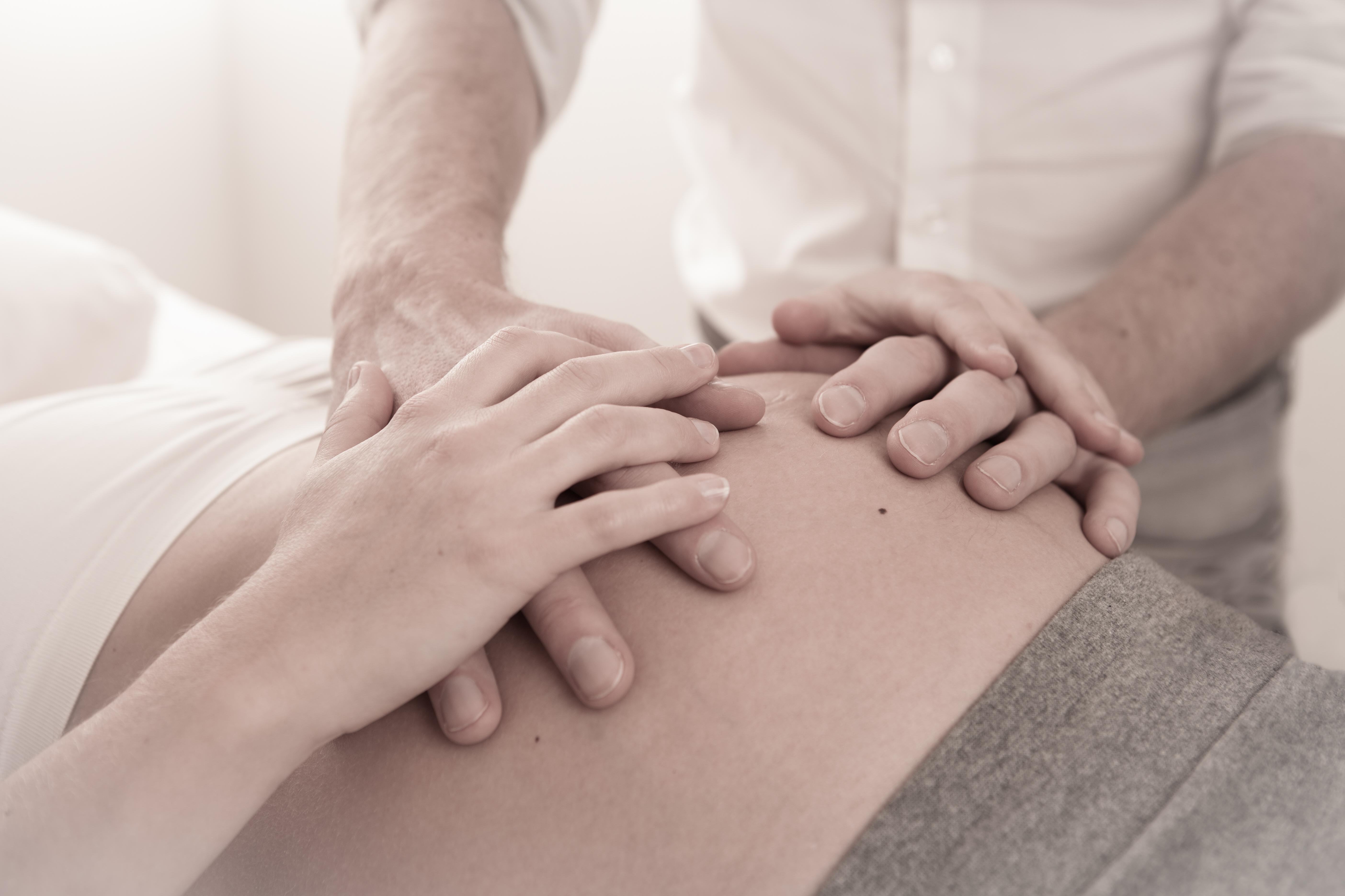 haptonomische zwangerschapsbegeleiding